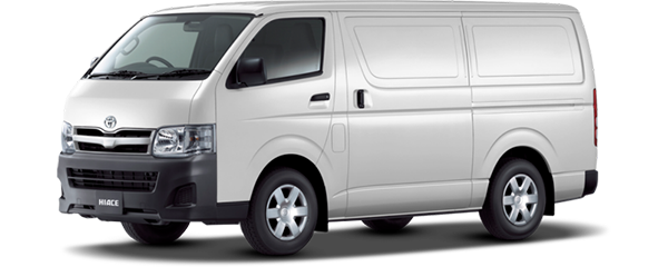 Toyota Hiace Panel Diesel 2018