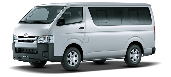 Toyota Hiace 15 PAX D 2018
