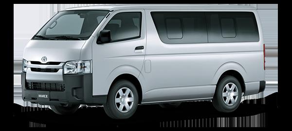 Toyota Hiace 15 PAX 2019
