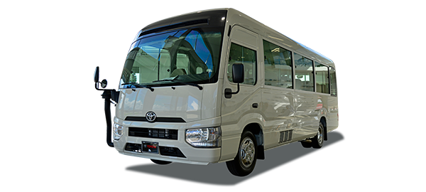 Toyota Coaster High Line 30 pax 2020