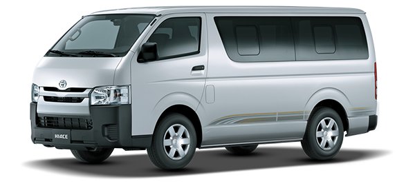 Toyota Hiace 15 PAX Full 2019