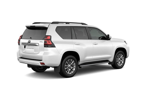2019 Toyota Land Cruiser Prado Suv Hace Sentir Tu Presencia Donde