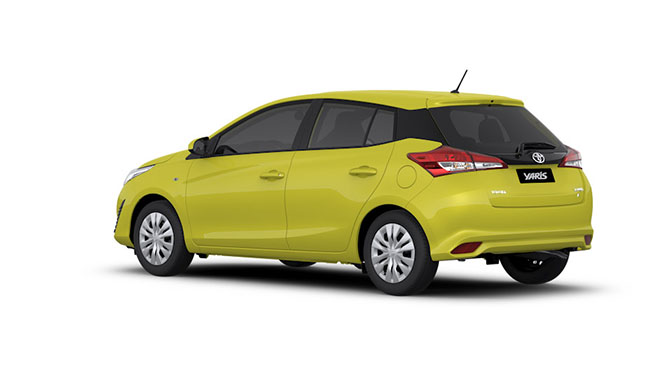 Toyota yaris hatchback 2019 precio
