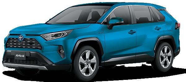 Toyota RAV4 HÍBRIDO AUTORRECARGABLE LIMITED 4X4 CVT 2019