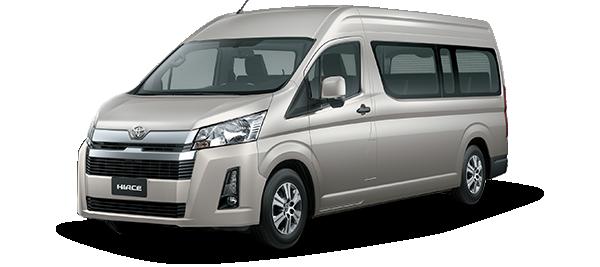 Toyota Hiace techo alto - Hiace Top Line 14 2020