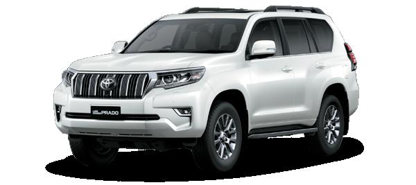 Toyota Land Cruiser Prado Platinum 2020