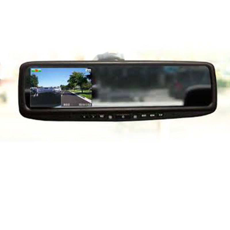 Espejo retrovisor con pantalla y DVR
