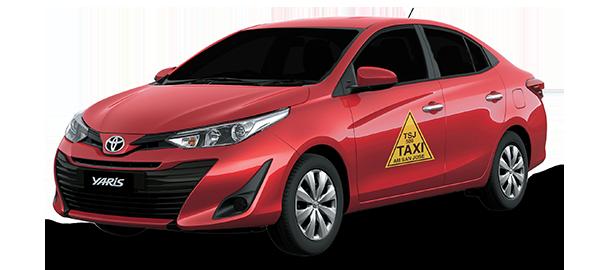 Toyota Yaris Taxi 2019
