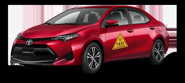 Toyota Taxi Corolla 2019