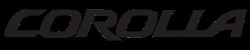 logo Toyota Corolla híbrido auto recargable 2019