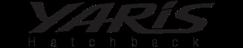 logo Toyota Yaris Hatchback 2019