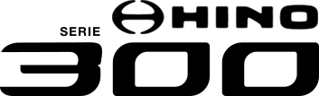 logo Toyota Hino Serie 300 2019