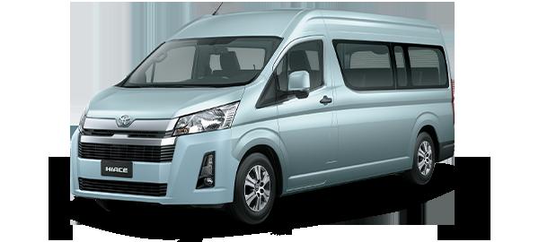 Toyota Hiace techo alto 2020