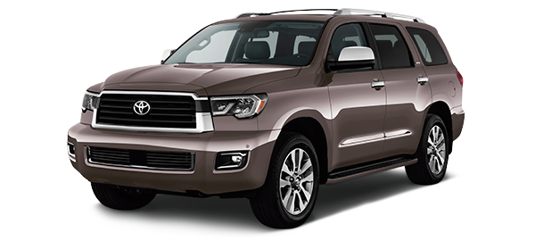 Toyota Sequoia Dark Sherry Mica 2018