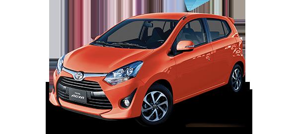 Toyota Agya Naranja 2019
