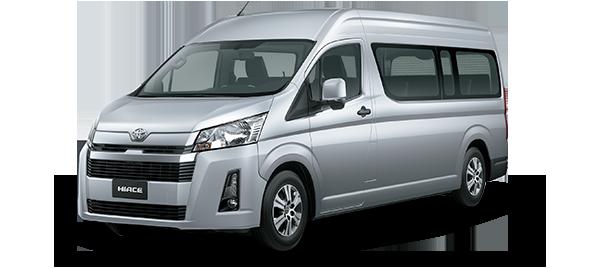 Toyota Hiace techo alto 2020 Silver Metallic