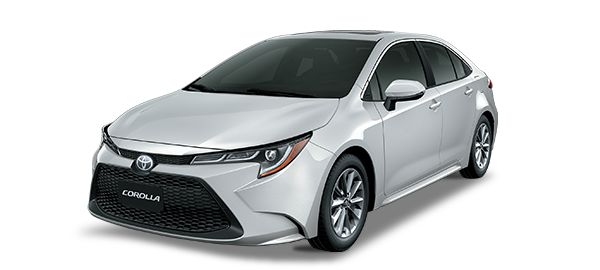 Toyota Corolla Silver Metallic 2019
