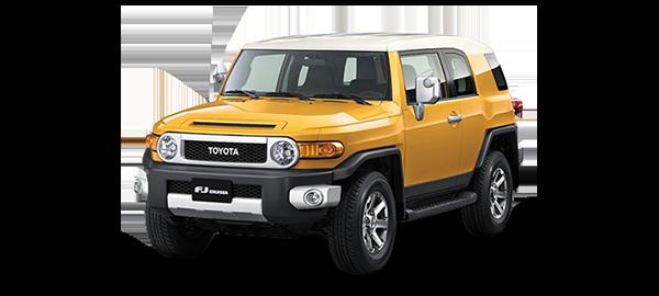 Toyota FJ Cruiser YELLOW 2020