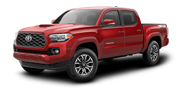 Toyota Tacoma Red Mica Metallic 2020
