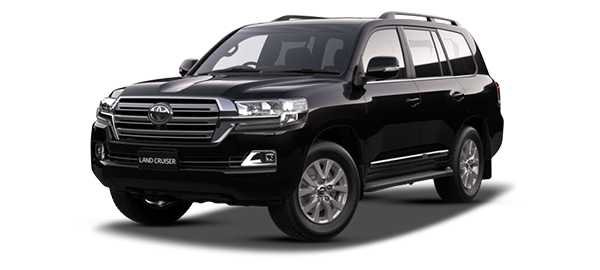 Toyota Land Cruiser Station Wagon ATTITUDE BLACK MICA 2019