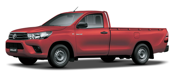 Toyota Hilux Low Bed 2020 CRIMSON SPARK RED METALLIC