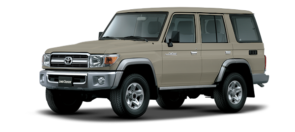 Toyota Land Cruiser Hard Top 4 Puertas BEIGE 2019