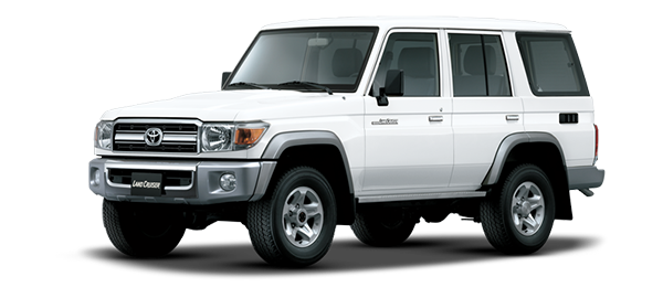Toyota Land Cruiser Hard Top 4 Puertas WHITE 2019