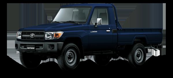 Toyota Land Cruiser hard Top Blue 2018