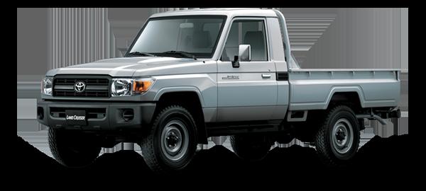 Toyota Land Cruiser hard Top Silver Metallic 2018