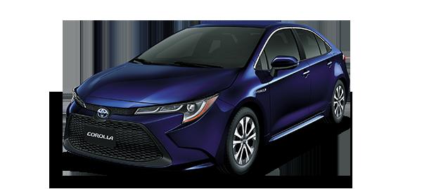 Toyota Corolla híbrido auto recargable Dark Blue mc 2019