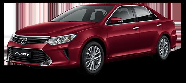 Toyota Camry Híbrido Red Mica Metallic 2019