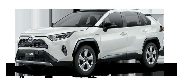 Toyota Rav4 Híbrido Auto Recargable Super White II 2019