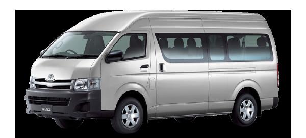 Toyota Hiace Techo Alto WHITE 2018