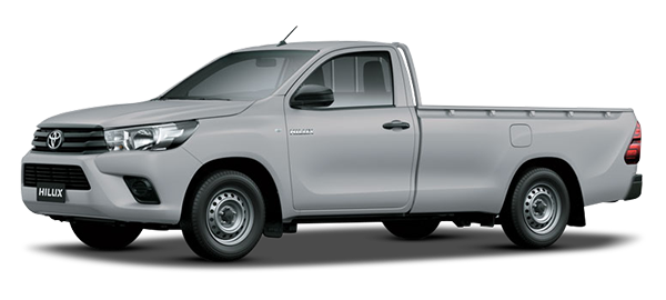 Toyota Hilux Low Bed 2020 SILVER METALLIC
