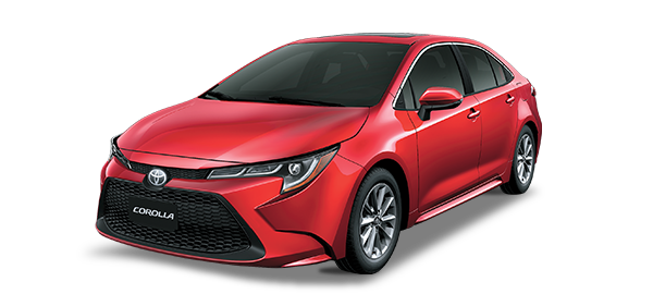 Toyota Corolla Red Mica Metallic 2019