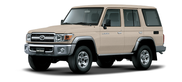 Toyota Land Cruiser Hard Top 4 Puertas BEIGE METALLIC 2019