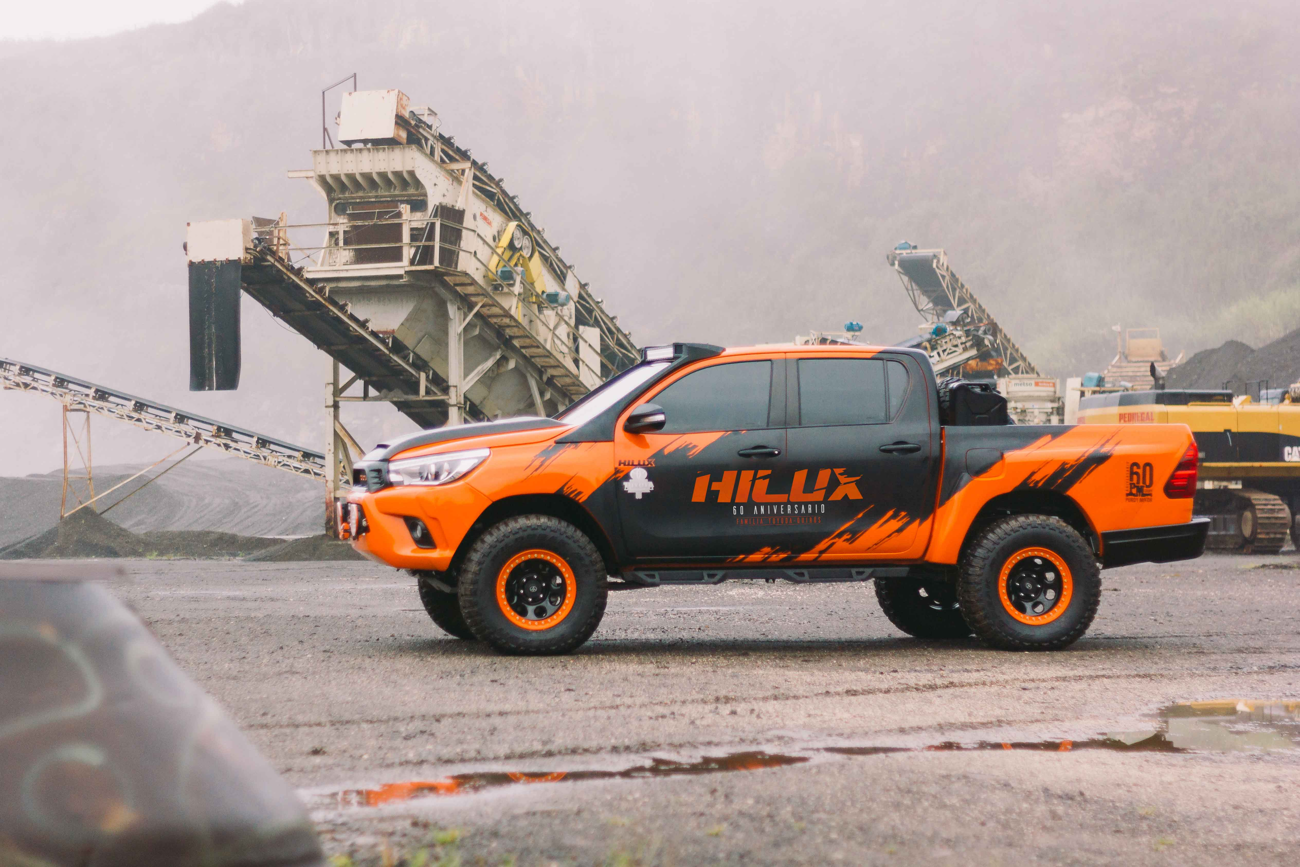 Hilux 60 Aniversario Purdy Motor