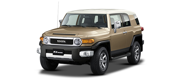 Toyota FJ Cruiser BEIGE 2KP 2018