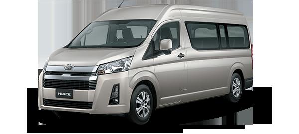 Toyota Hiace techo alto BEIGE MET 2019