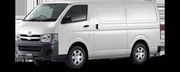 Toyota Hiace Panel WHITE 2018