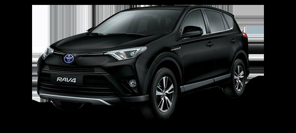 Toyota RAV4 Híbrido Eléctrico BLACK MICA INK 2019