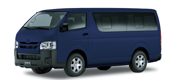 Toyota Hiace Techo Bajo Dark blue mica metallic 2018