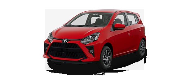 Toyota Agya 2020 Rojo