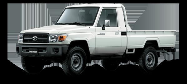 Toyota Land Cruiser hard Top WHITE 2018