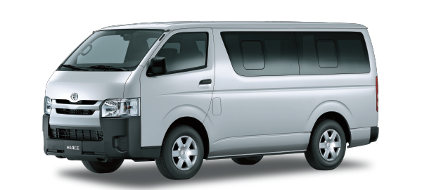 Toyota Hiace Techo Bajo WHITE 2018