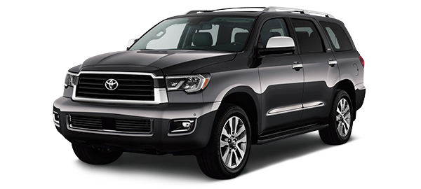 Toyota Sequoia GRAY METALLIC/GRAPHITE 2018