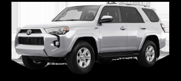 Toyota 4Runner Silver Metallic 2018