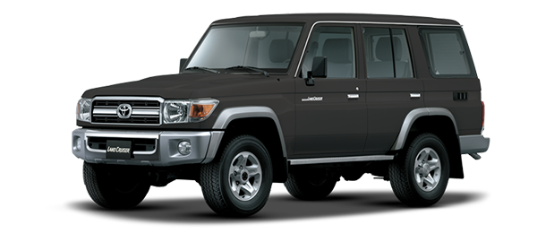 Toyota Land Cruiser Hard Top 4 Puertas GRAY METALLIC/GRAPHITE 2019
