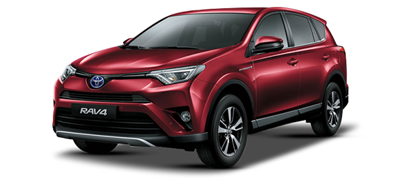 Toyota RAV4 Híbrido Eléctrico DARK RED MM 2018