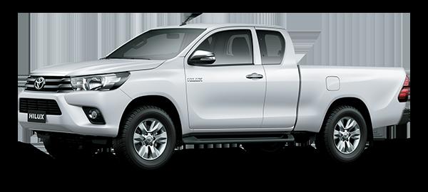 Toyota Hilux Extra Cabina Super White II 2018